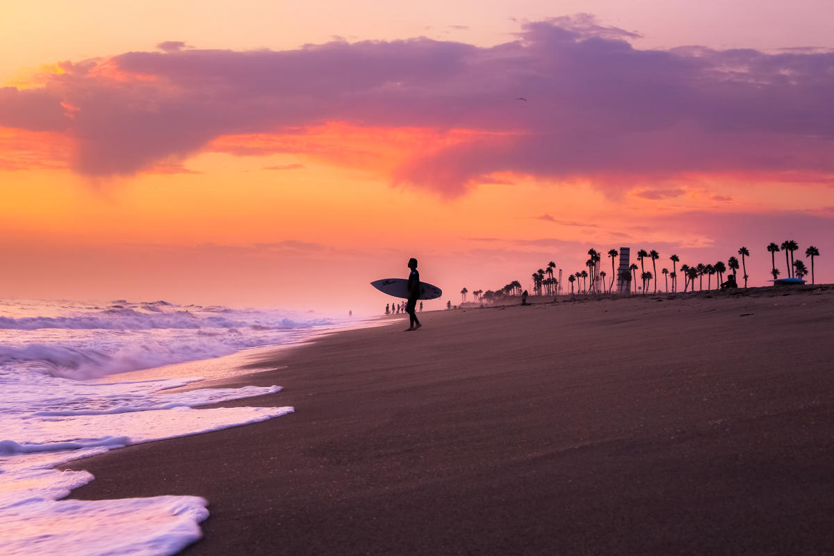 Huntington Beach Surfing