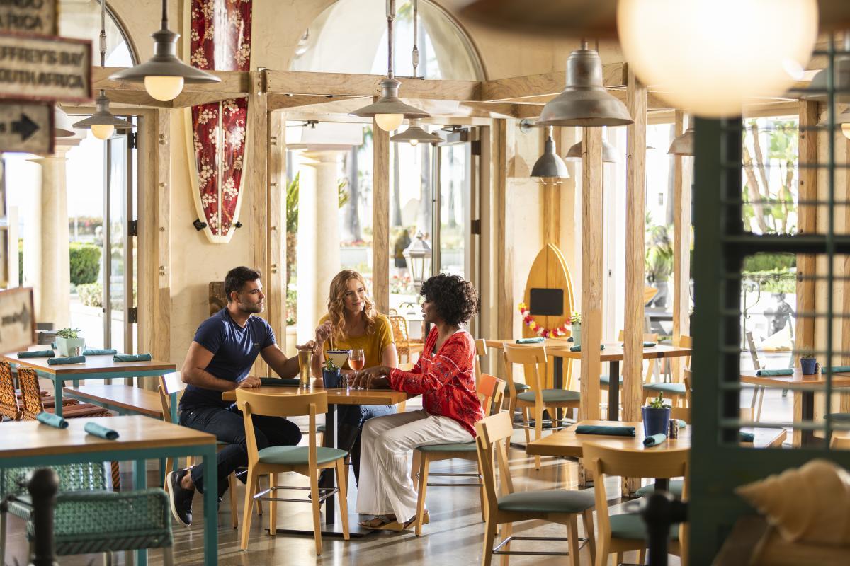 Pete's Grill in Hyatt Regency Huntington Beach
