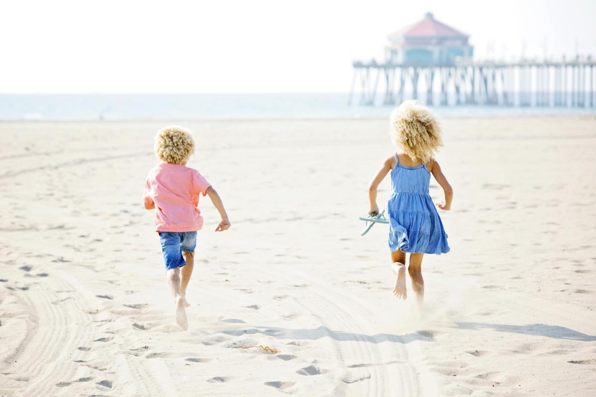 Family vacation in Huntington Beach