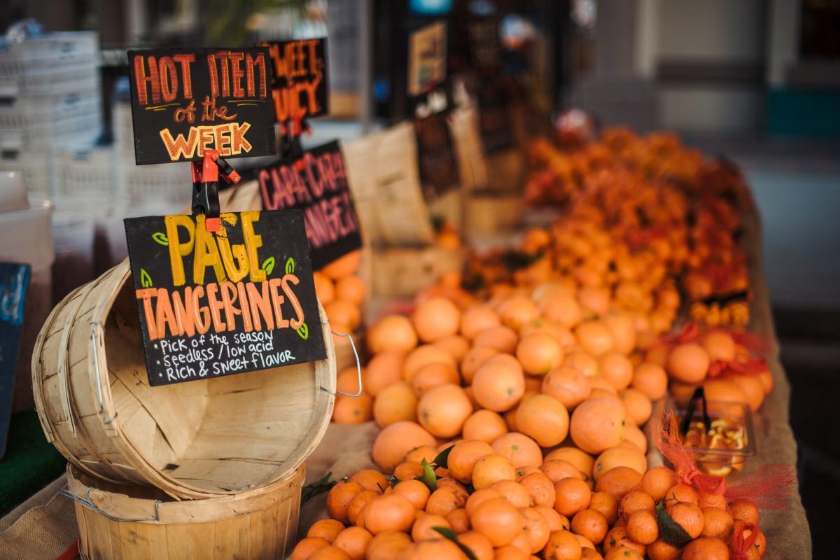 Farmers Market in Huntington Beach