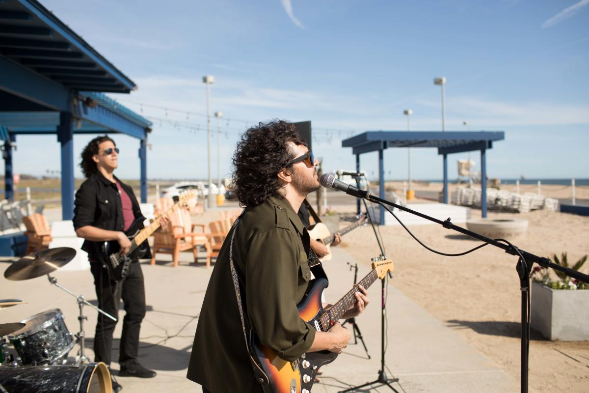 Sealegs at the Beach in Huntington Beach