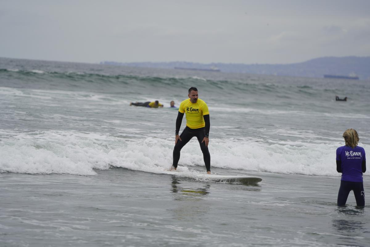 McKinnon Surf and Sup Lessons in Huntington Beach