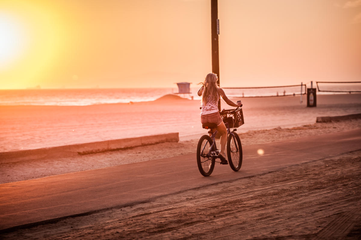 Huntington Beach Biking