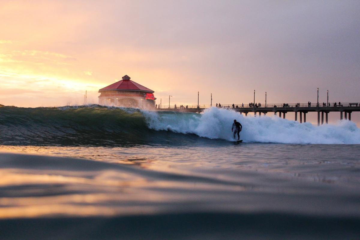Night Surfers Pier