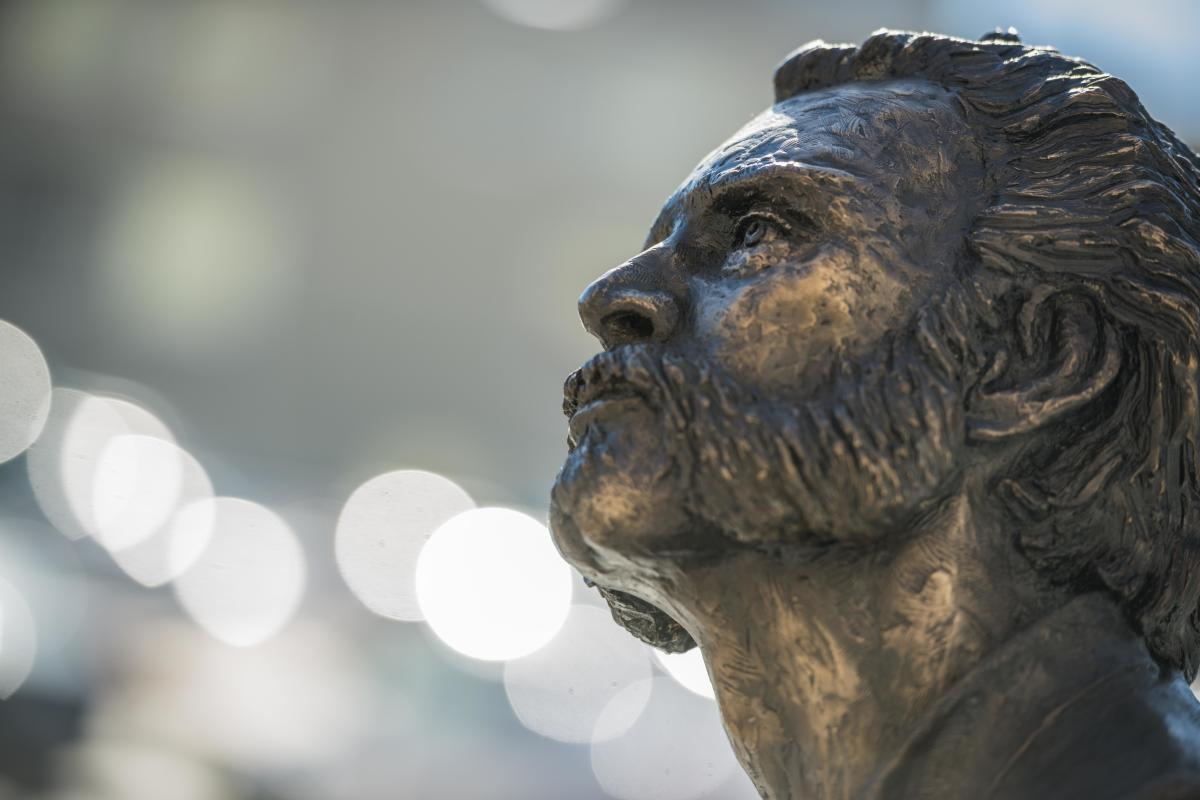 Cyrus K. Statue