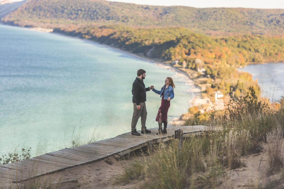 Empire Bluff at Sleeping Bear Dunes