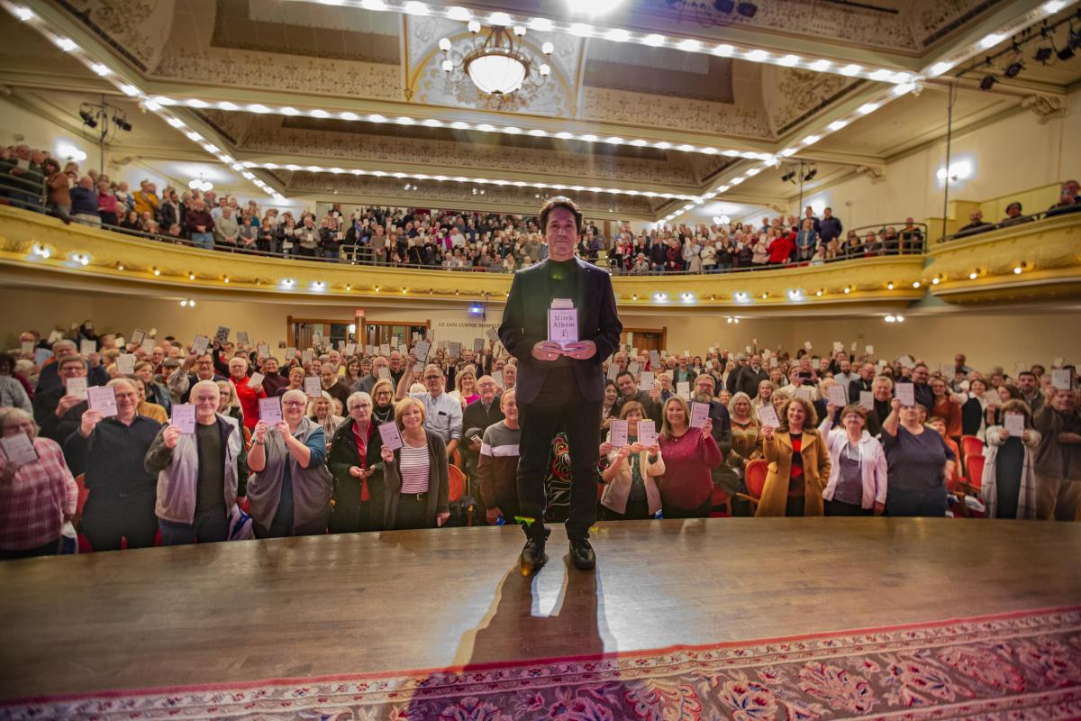Mitch Albom at Traverse City Opera House