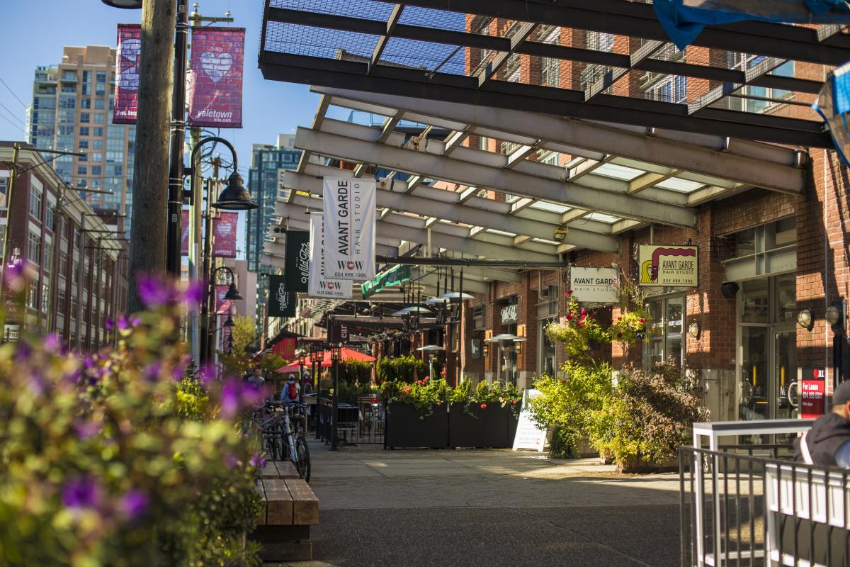 Yaletown Patios