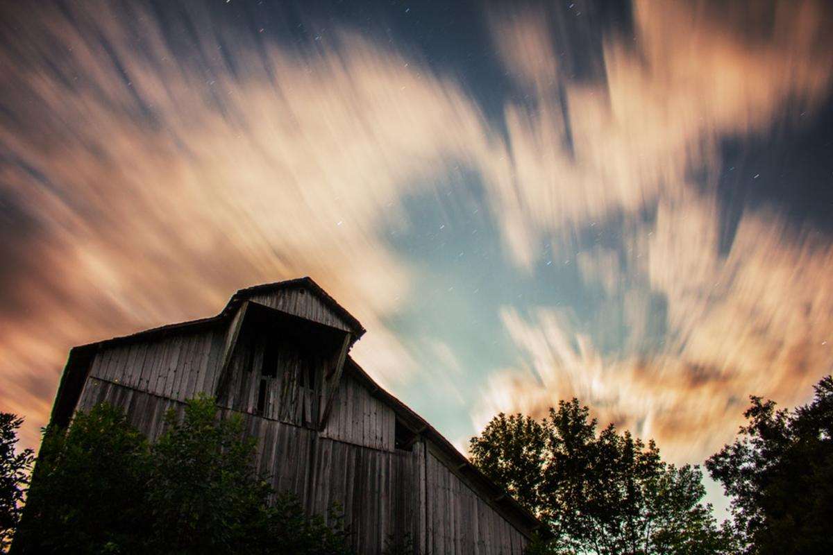 timelapse photo of clouds and sky