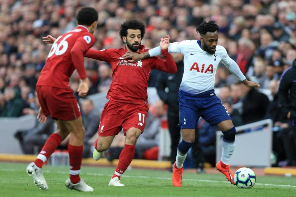 Liverpool's Mo Salah and Tottenham's Danny Rose will be a showdown to watch in the 2019 UEFA Champions League final.