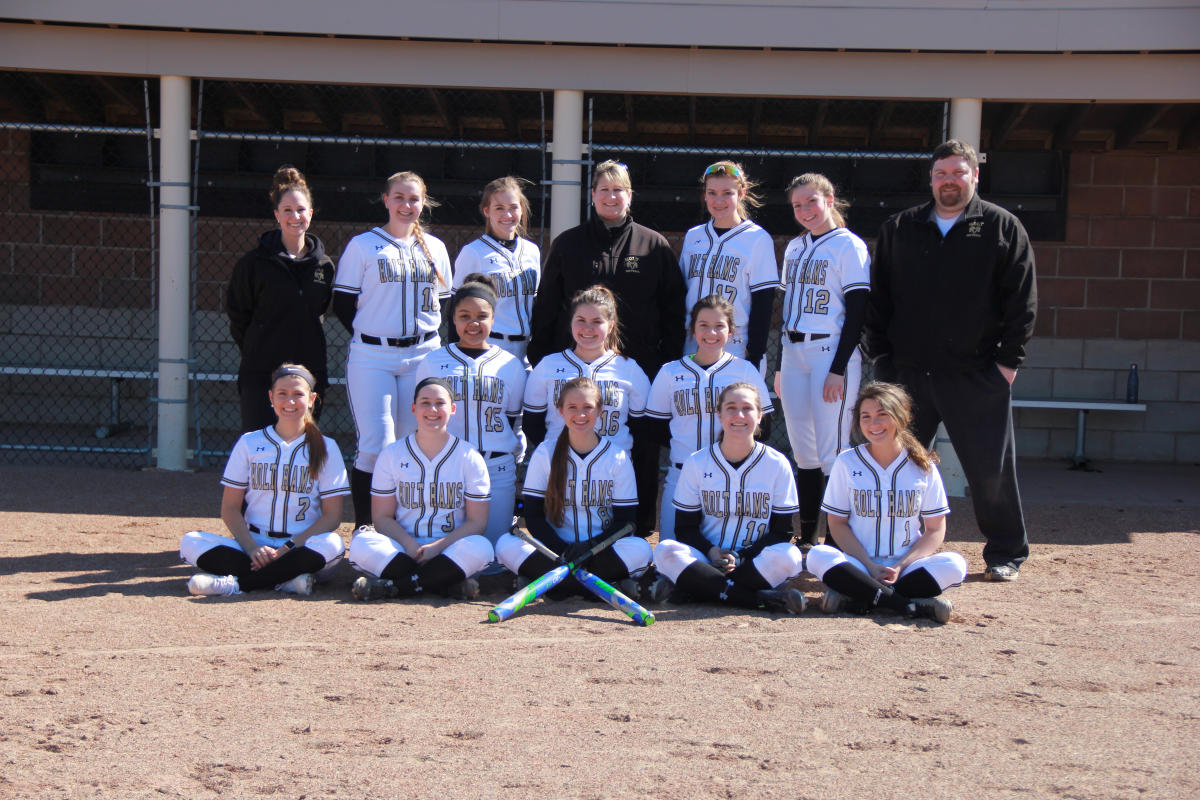 Holt Rams Softball 2018