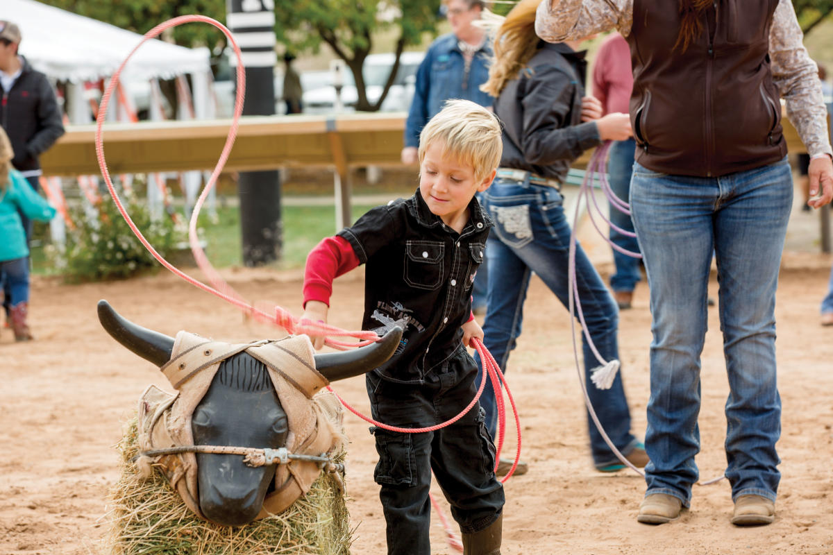 Kid's Rodeo at the Lincoln County Cowboy Symposium