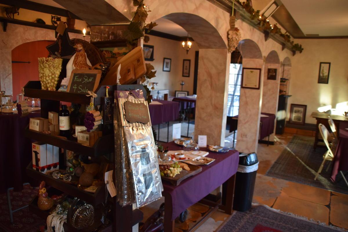 Wycombe Vineyards inside