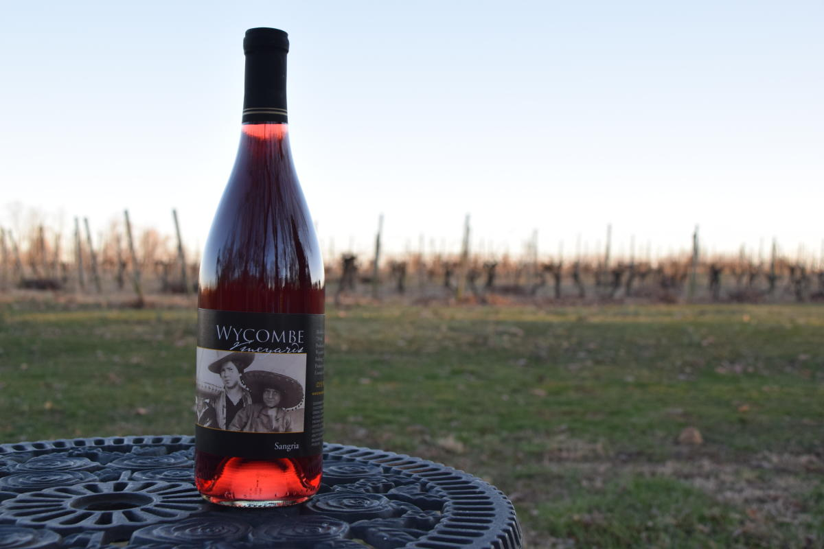 Wycombe Vineyards bottle