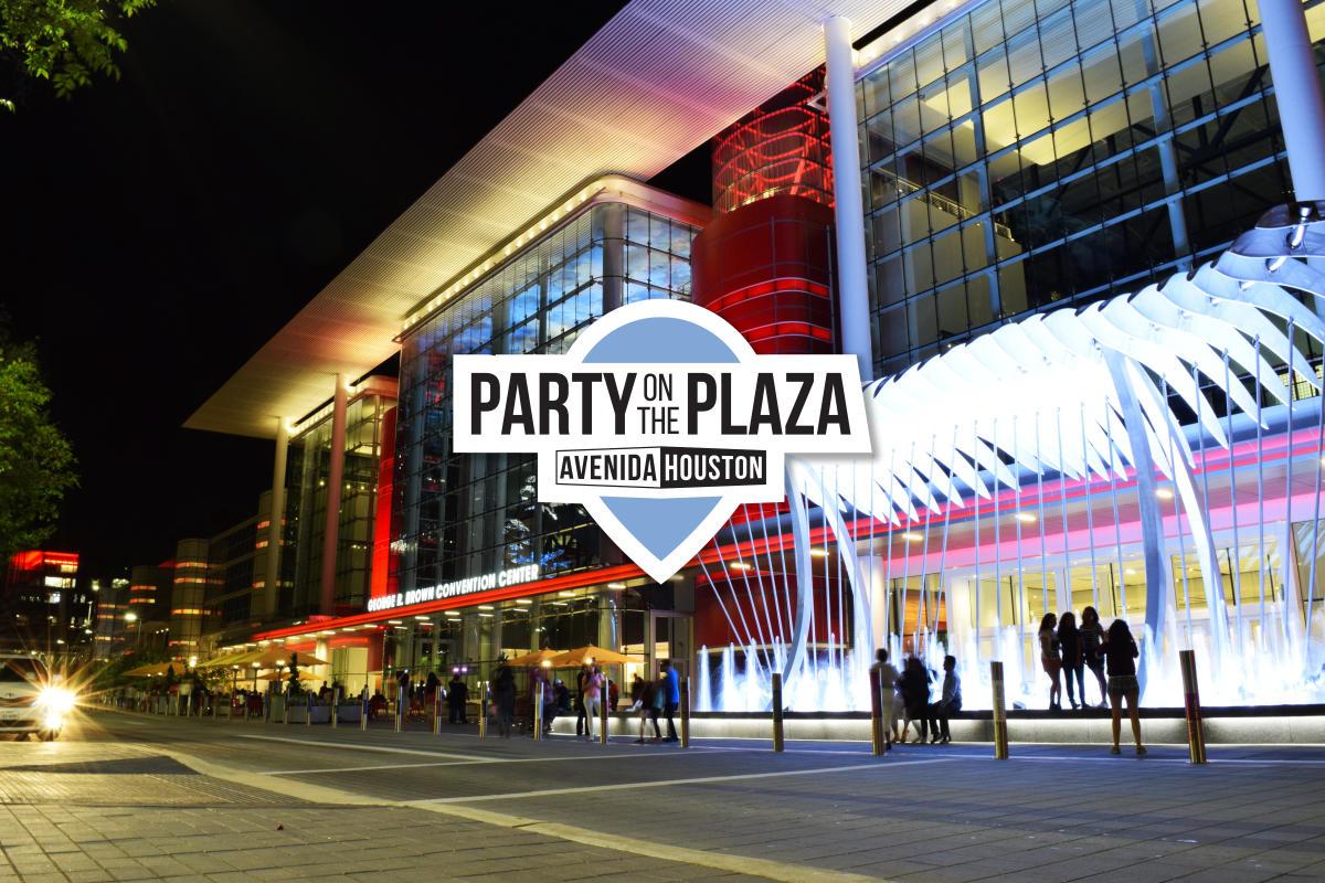 Avenida Plaza Night with POTP logo