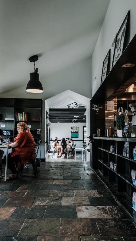 Upshot Coffee Shop Interior