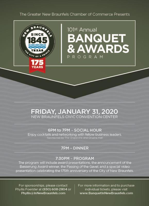 2020 Banquet Invitation