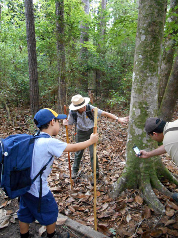 Big Thicket Ranger Hike