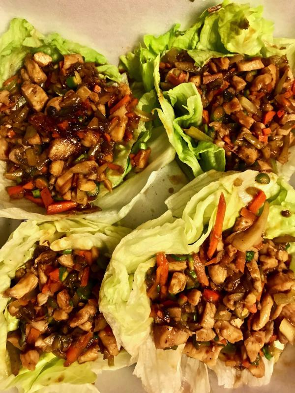 Chicken Lettuce Wraps Appetizer Ninja