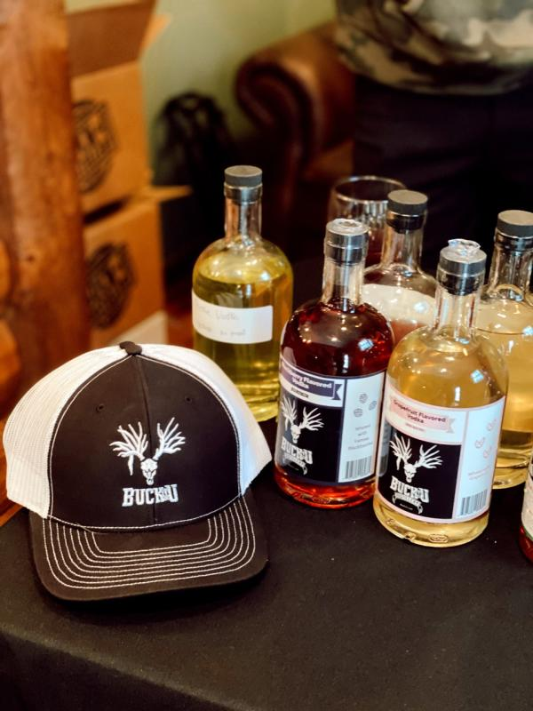Buck-U Distillery from Ottawa, KS at White Tail Run Winery in Edgerton, KS