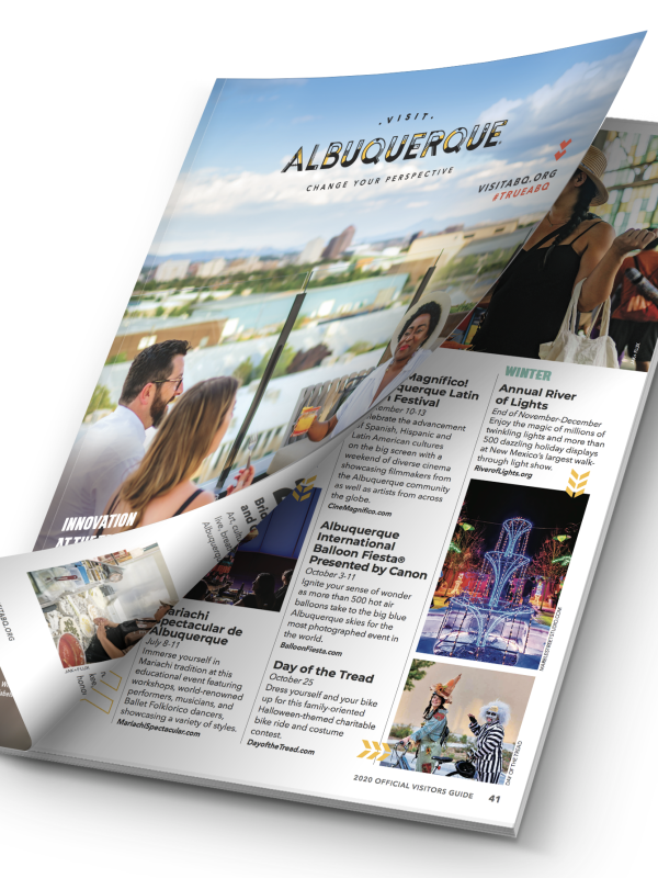 2020 Visit Albuquerque Official Visitor Guide
