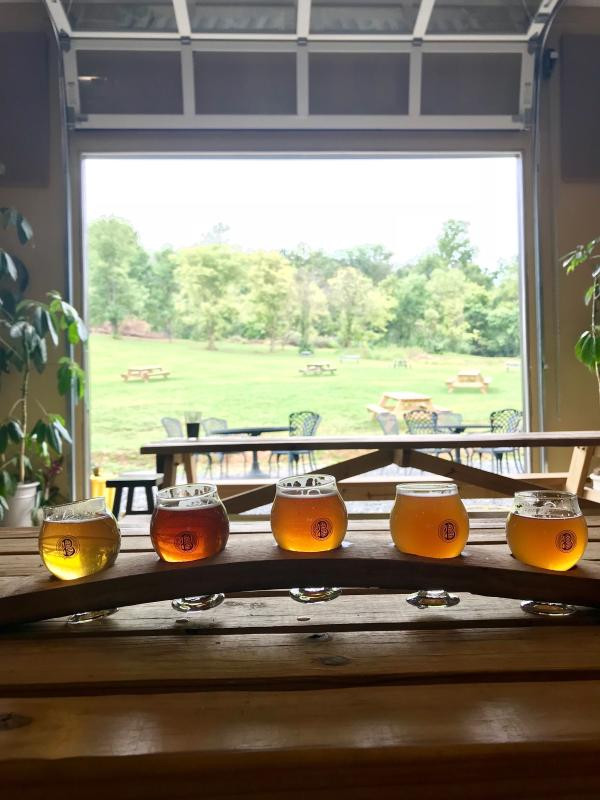 B Chord Beer Tasting Flight