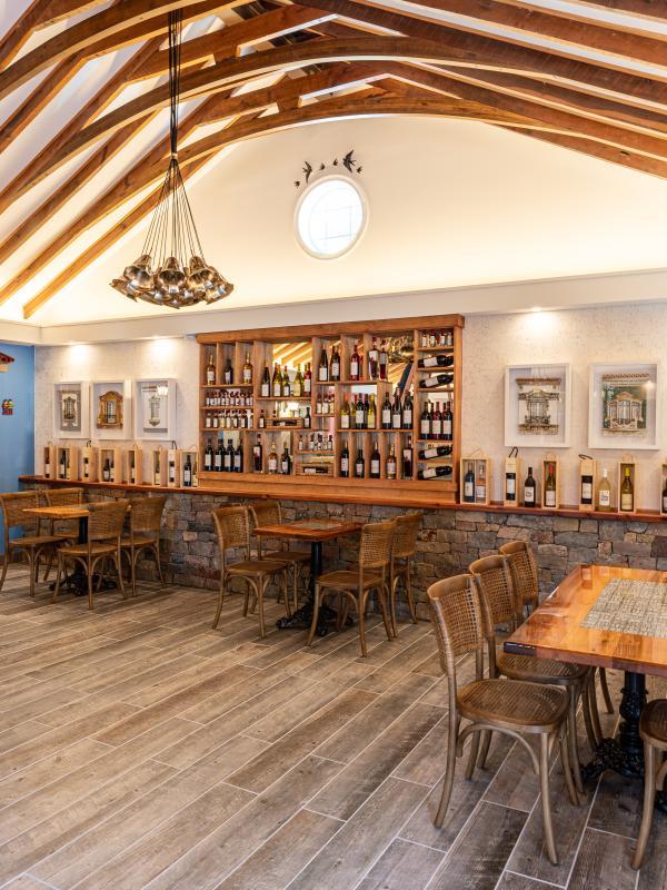 Gorgeous interior photo of Aroma Wine Tasting in Haymarket