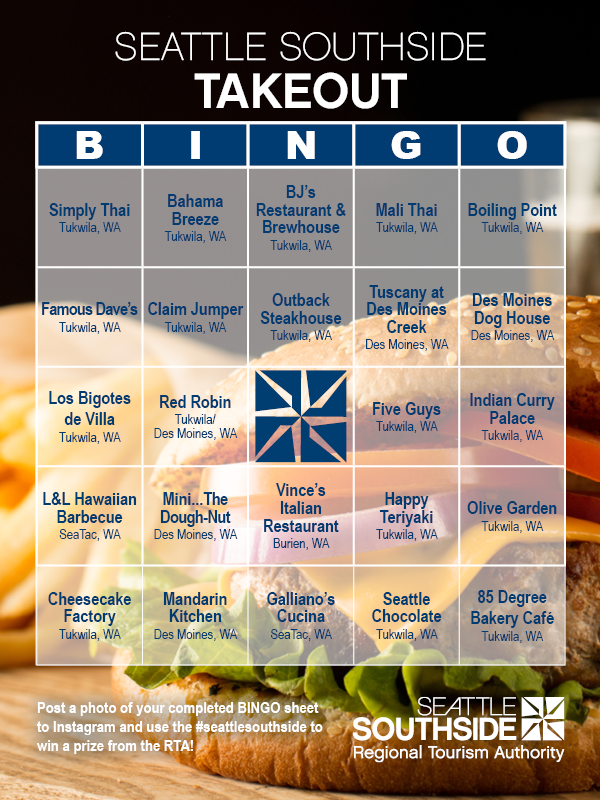 Takeout Bingo