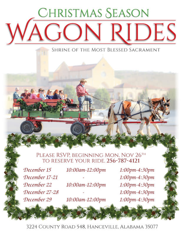 shrine wagon rides 2018