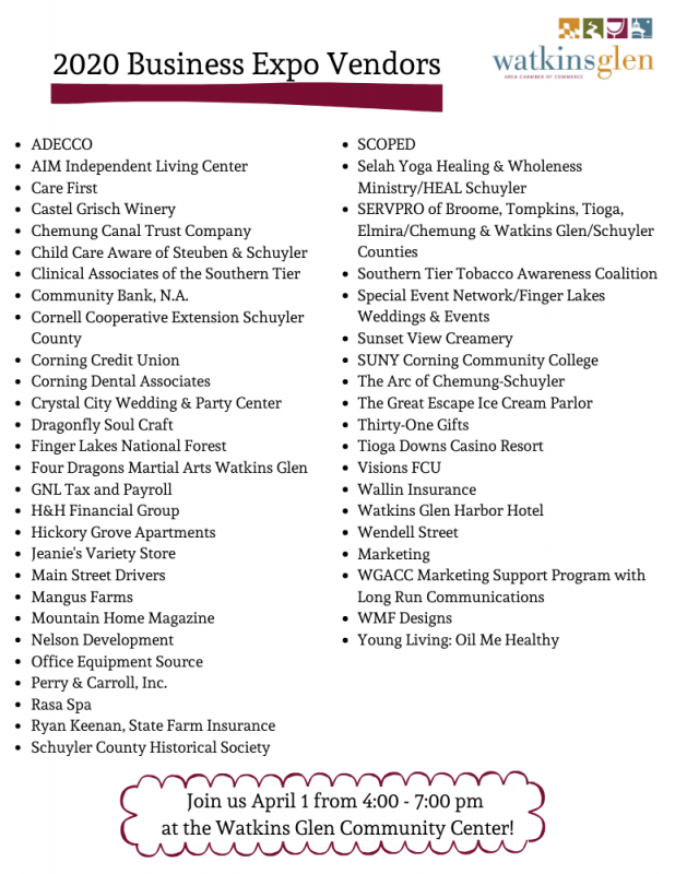 2020_Business_Expo_Vendor_Listing_Website_as_of_3.13.20