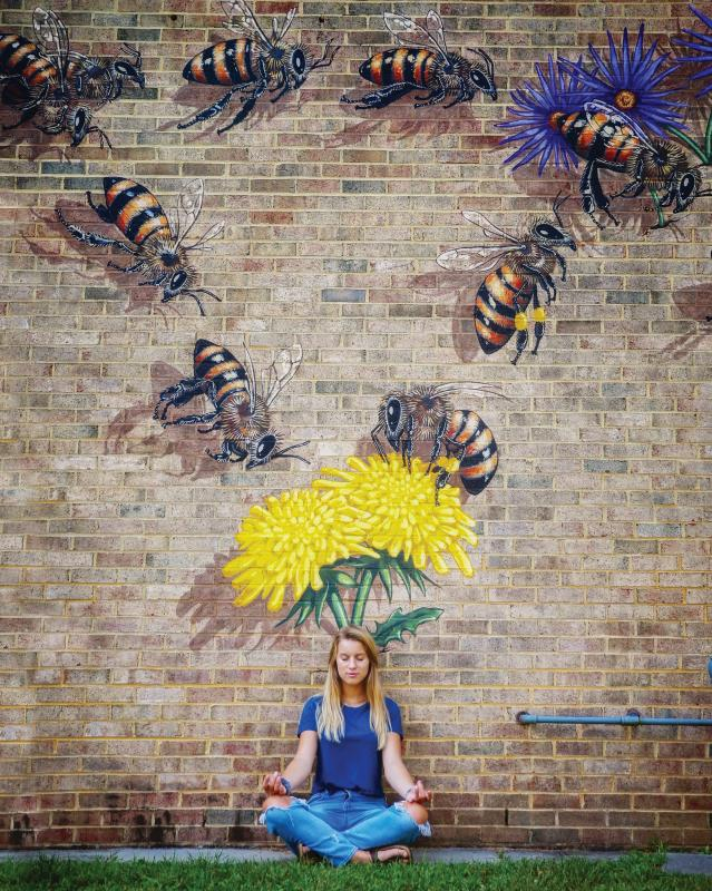 Honey  Bee Mural- Just do You