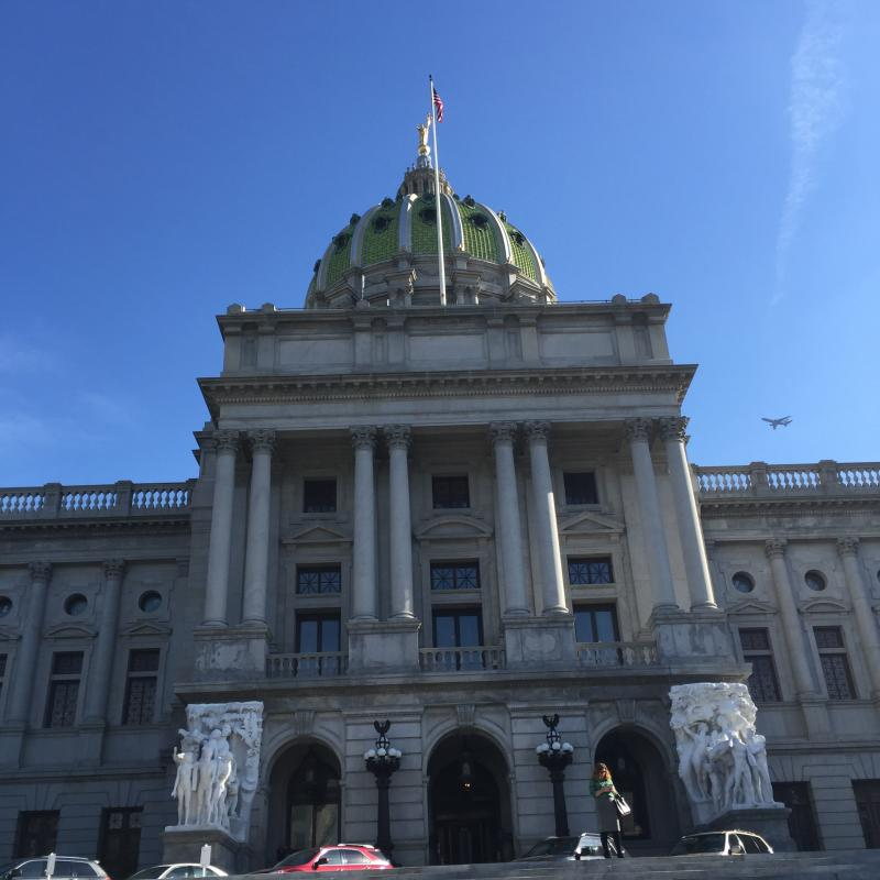 Capitol Dome by Mackenzie Carpenter - Pittsburgh Post-Gazette - Oct. 2015
