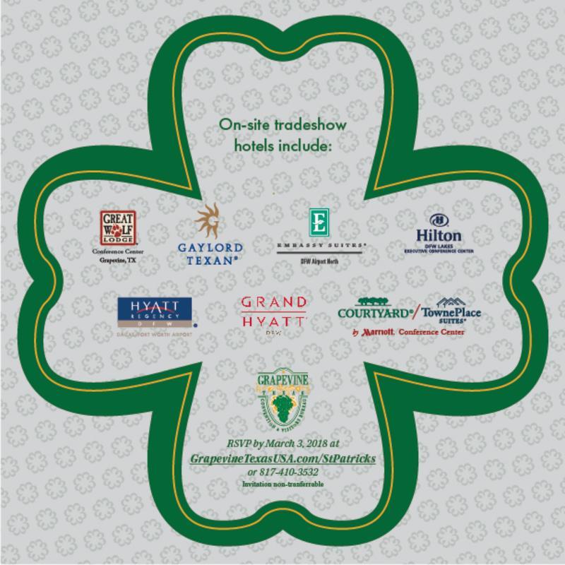 St Patricks Reception 2018