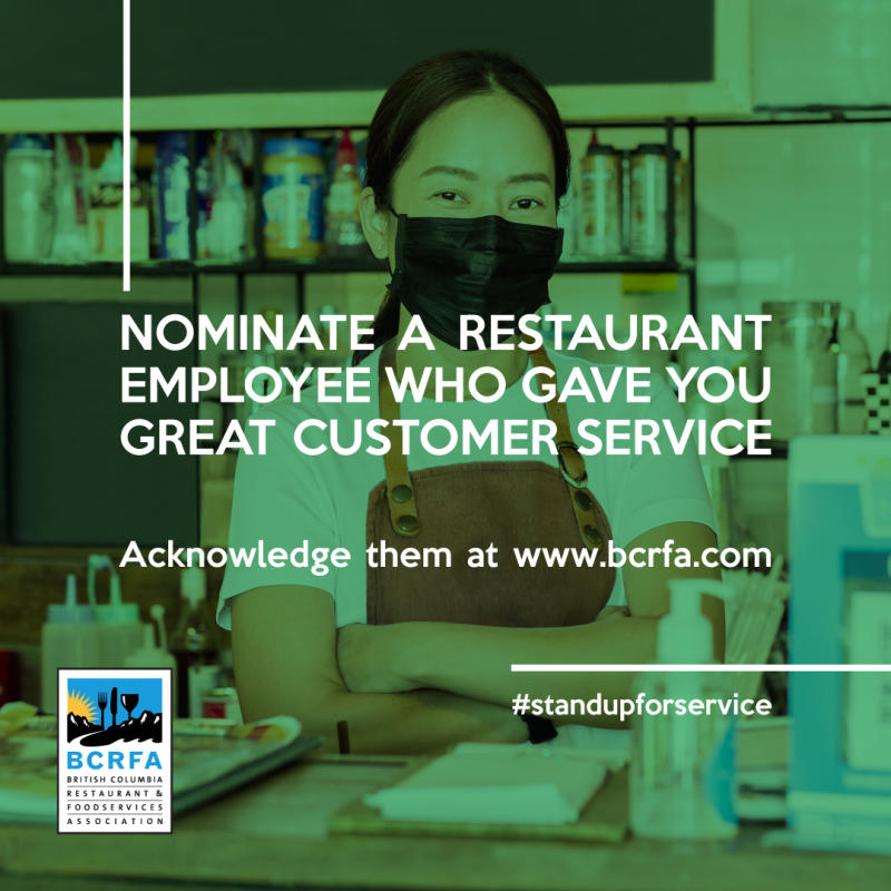 BCRFA Stand Up For Service Campaign