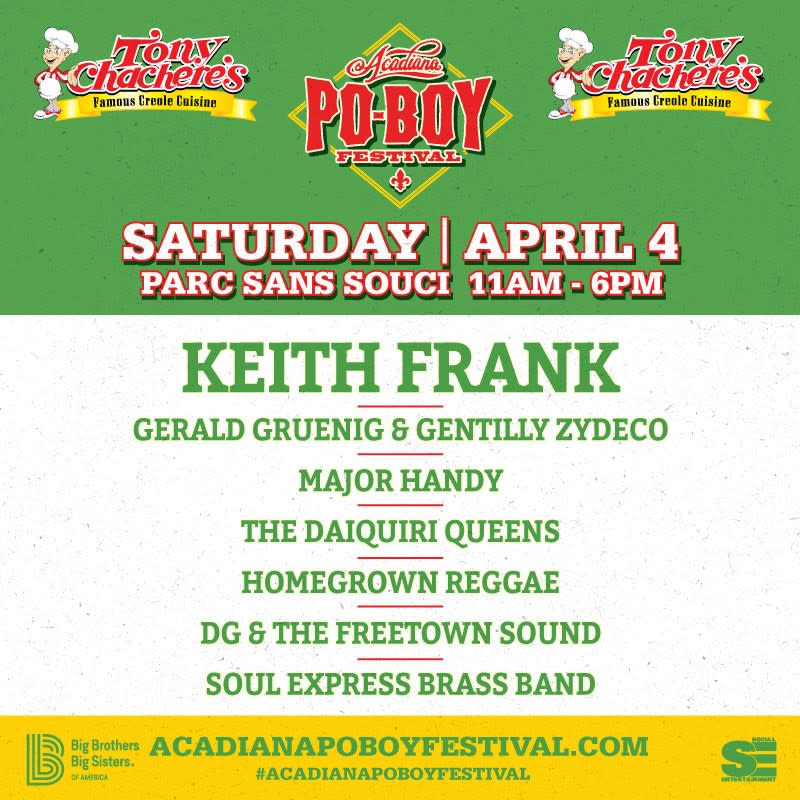 Acadiana Poboy Festival