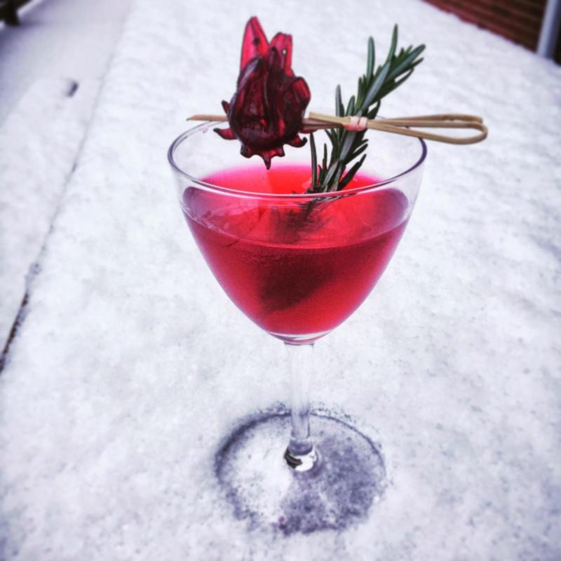 The People's Kitchen Holiday Getaway drink
