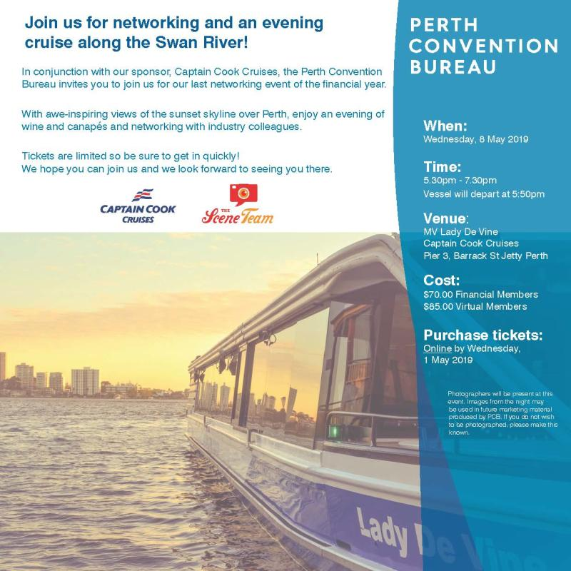 PCB Member Networking Invitation May 2019