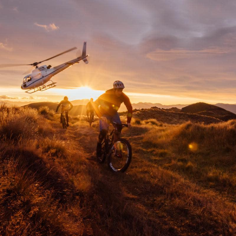 Wanaka-Heli-Biking