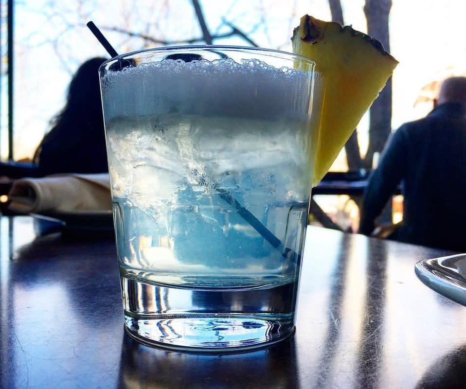 Pineapple-infused vodka at Nektar