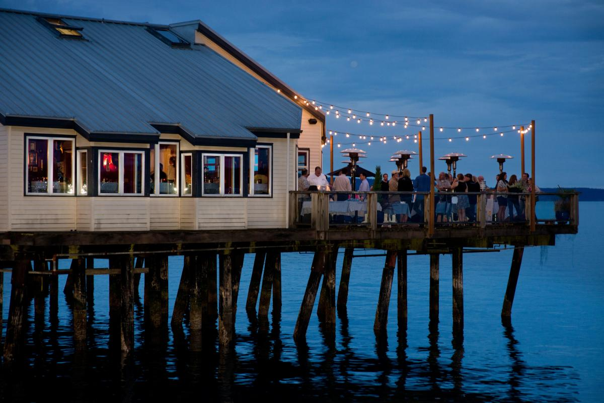 Duke's waterfront dining on Ruston Way