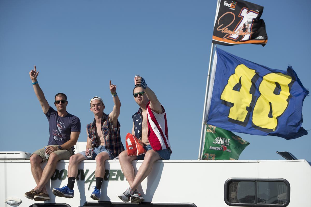 Camping at Pocono Raceway