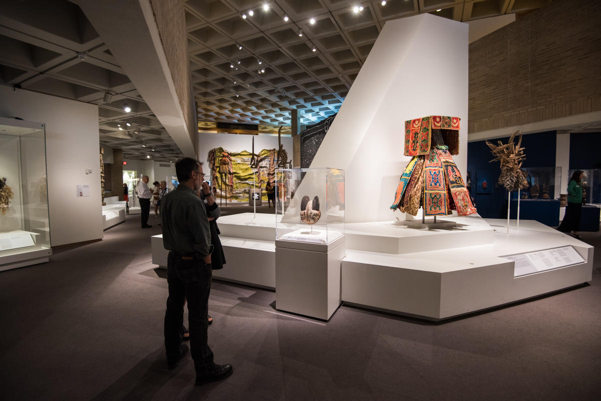 African art gallery at NCMA