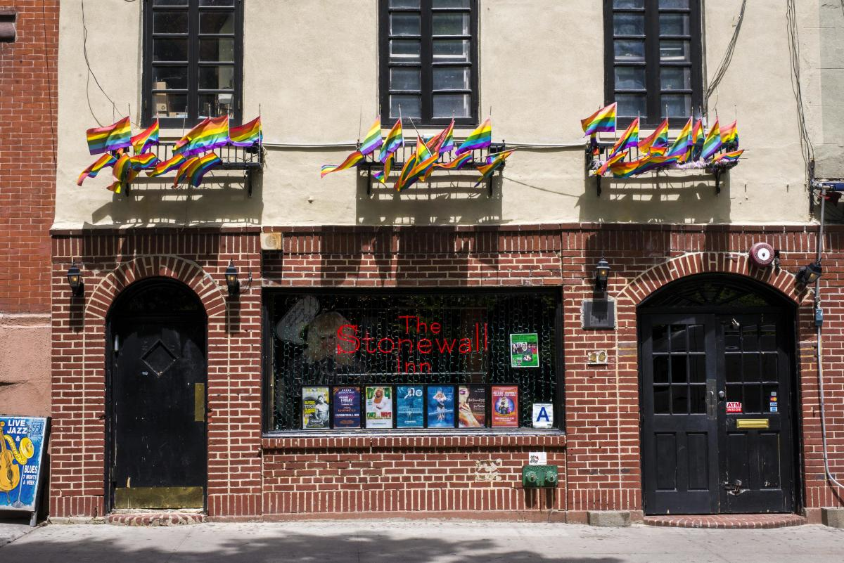 stonewall inn, exterior