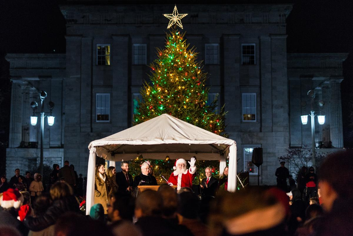 State Capitol Tree Lighting 2017