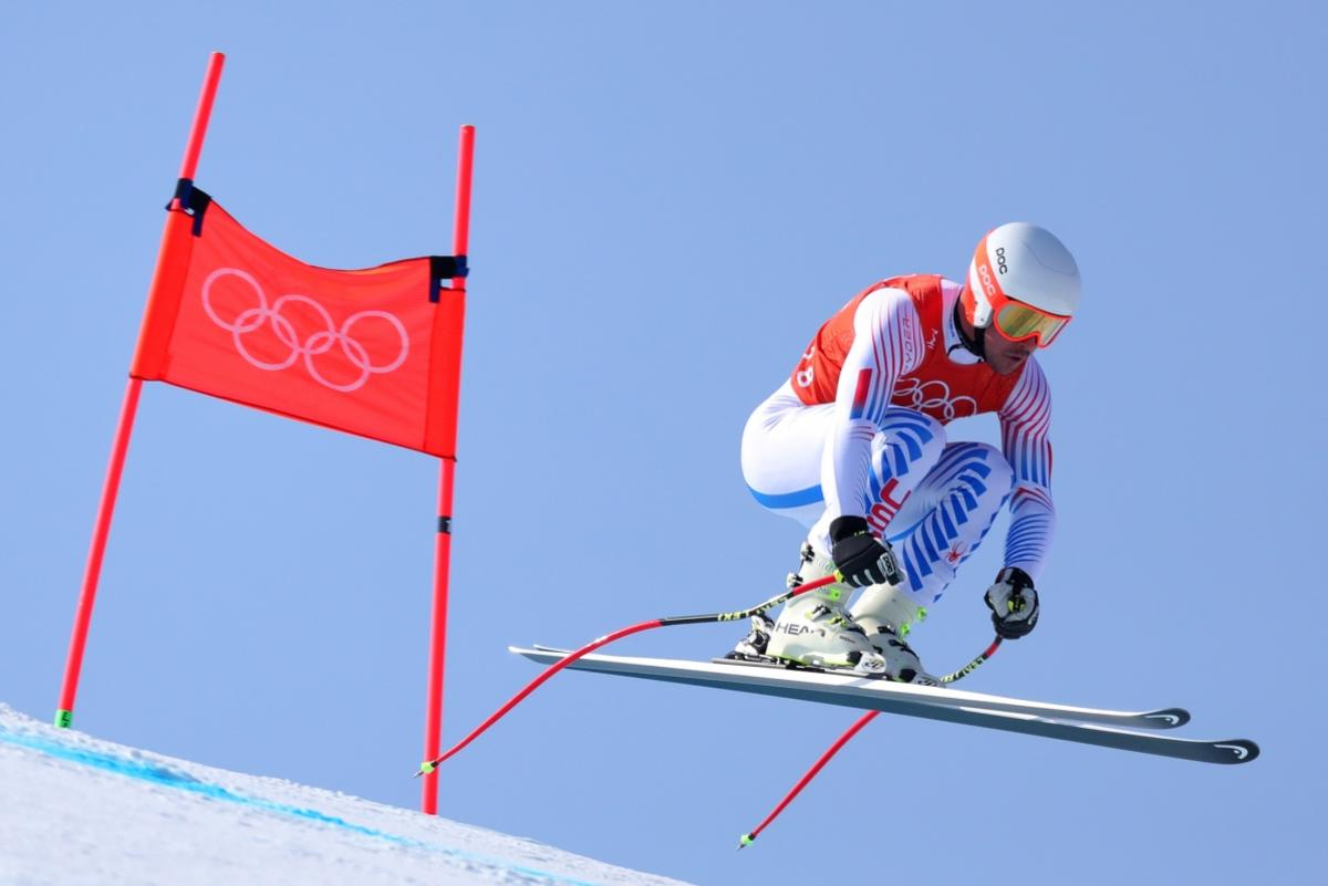 Salt Lake's Jared Goldberg at the Pyeongchang Olympics 2018