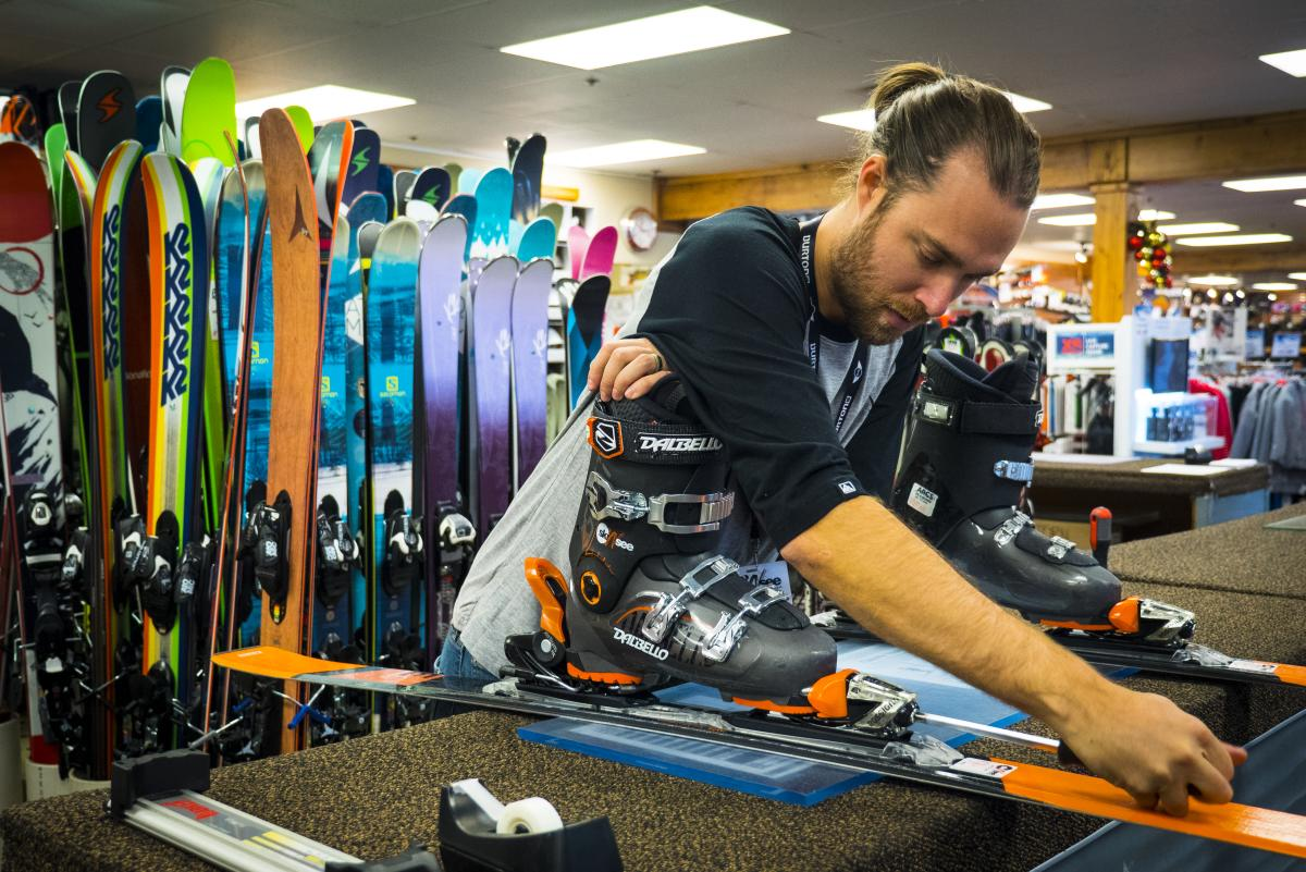 Trust the team at Ski N See to get you dialed in.