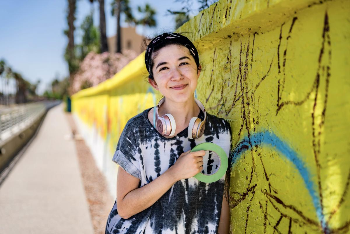 Commonwealth Mural - Artist Ariana Enriquez