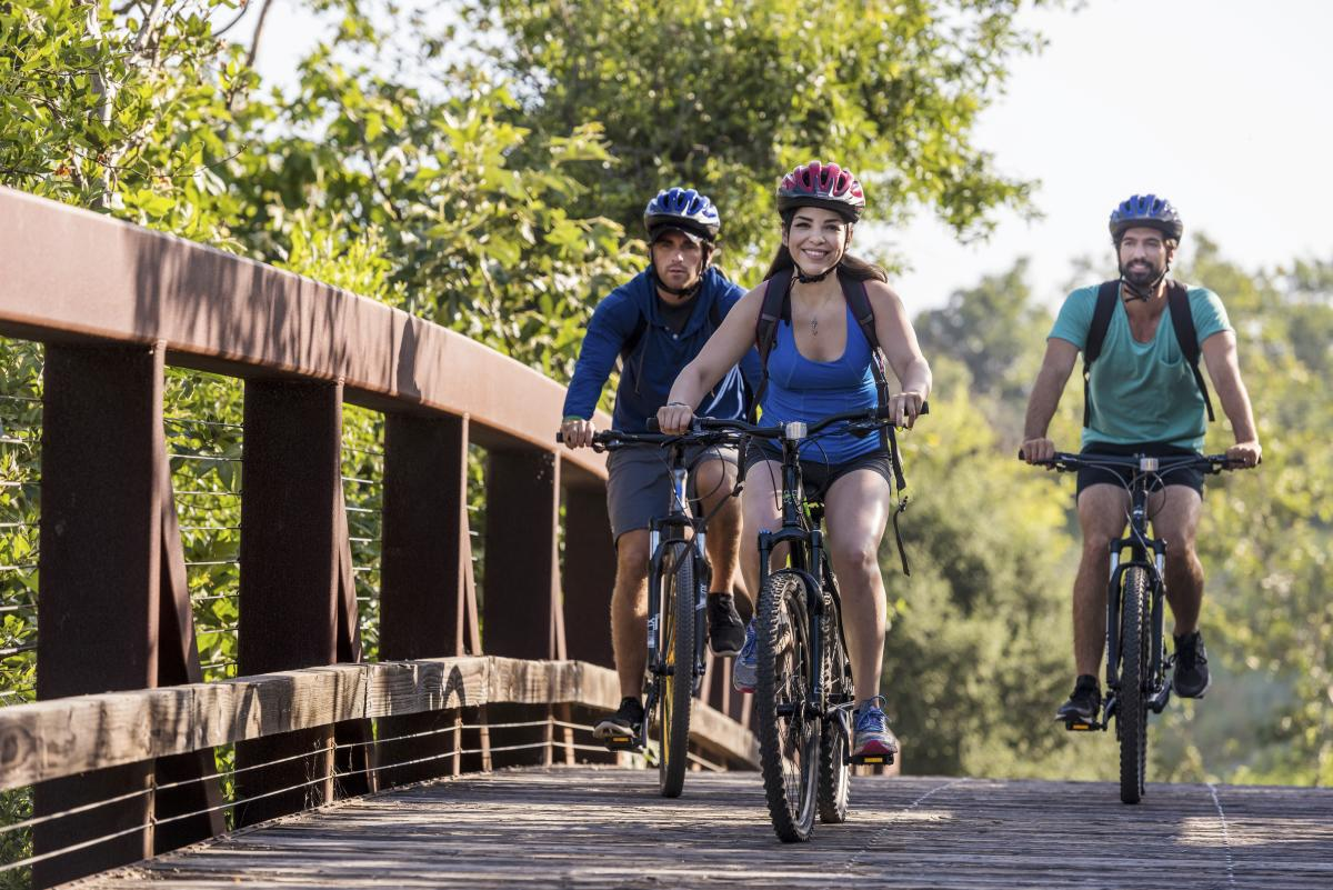 Shady Canyon Mountain Bike Bridge