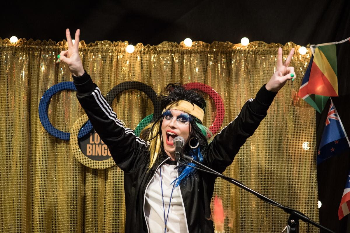 Drag Bingo at Living Things Festival