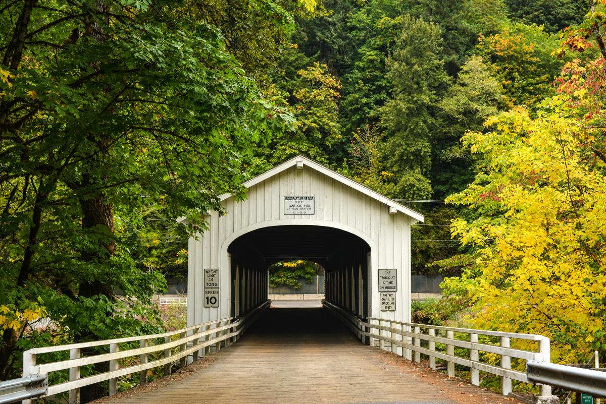 Goodpasture Covered Bridge by Melanie Griffin
